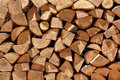 Firewood Pile Royalty Free Stock Photography - 26734917