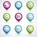 Arrow Buttons Stock Image - 26735501
