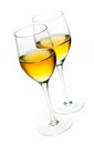 Two Glasses Of Sherry Royalty Free Stock Photos - 26735778