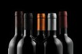 Bottles Of Wine Royalty Free Stock Photo - 26744995