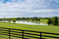 Country House And Pond Royalty Free Stock Image - 26745676