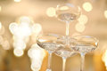 Champagne Glasses Royalty Free Stock Image - 26752436
