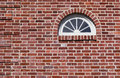 Fanlight Window In Historic Home Stock Image - 26755971