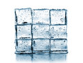 Wall Made ​​of Ice Cubes Stock Image - 26758941