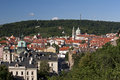 Prague - Lesser Town And Petrin Hill Royalty Free Stock Photos - 26759398