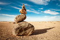 Rock Cairn Royalty Free Stock Images - 26765139