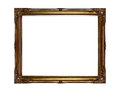 Gold Picture Frame Royalty Free Stock Photo - 26769245