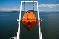 Free Fall Life Boat Stock Photography - 26773662