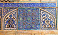 Tiled Oriental Mosaic Wall Of Ateegh Jame Mosque Royalty Free Stock Photo - 26778305