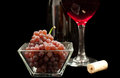 Red Wine Grapes Stock Images - 26784284