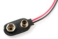 9v Battery  Wire Connector Stock Images - 26808764