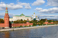 Moscow Kremlin And Moscow River Stock Photo - 26818130