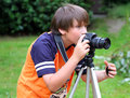 Young Photographer Stock Photo - 26822040