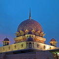 The Putra Mosque, Malaysia Stock Photography - 26831522