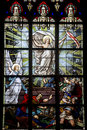 Vitré, Brittany, Stained Glass Royalty Free Stock Photo - 26833835