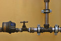 Pipes And Valve Royalty Free Stock Photos - 26838038