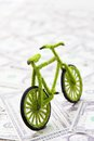 Eco Bicycle Icon Concept Royalty Free Stock Image - 26840416