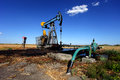 Oil Well In The Field Stock Images - 26850554