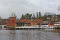 Old Paper Mill Buildings Of Red Brick Stock Image - 26852421