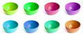 Colored Bowls Royalty Free Stock Image - 26854136