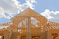New Residential Construction Home Framing Stock Photo - 26864020