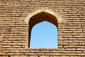 Arched Window In Brick Wall Stock Photo - 26865160