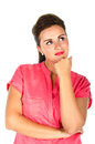 Young Woman In A Thoughtful Mood Royalty Free Stock Images - 26865769