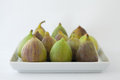Figs On Plate Stock Photo - 26874620