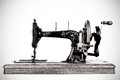 The Old Sewing Machine Stock Photo - 26884460