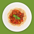 Spaghetti Top With Path Royalty Free Stock Image - 26884506