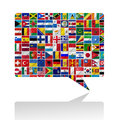Flags Of The World With Icon Set Stock Image - 26887701