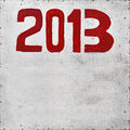2013 Year Royalty Free Stock Photo - 26888895
