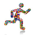 Flags Of The World With Icon Set Stock Image - 26889031