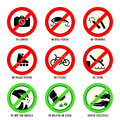 Park Signs | Set II Royalty Free Stock Image - 26893896