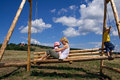 Swing In The Summer Stock Images - 2697404