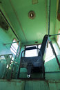 Seat In Old Train Interior Royalty Free Stock Photography - 26902497