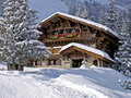 A Chalet In The Alps Stock Photos - 26912553