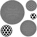 Dotted Sphere Stock Photography - 26923252