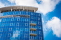 Office Building - Blue Sky And Clouds Reflections Stock Photos - 26933953