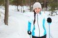Cross-country Skiing Stock Images - 26939614