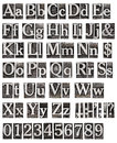 Alphabet From Metal Letters Royalty Free Stock Photo - 26948065