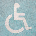 Wheel Chair Sign Stock Photo - 26953500
