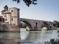 Pont Saint-Benezet In Avignon Stock Photography - 26964392