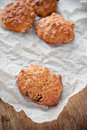 Biscuits On Crumpled Paper Stock Image - 26966201