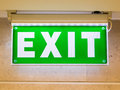 Exit Sign Stock Photography - 26970032