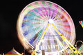 Ferris Wheel At Night Royalty Free Stock Image - 26970976