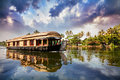 House Boat In Backwaters Royalty Free Stock Images - 26972529