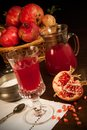 Pomegranate Juice Royalty Free Stock Photography - 26976777