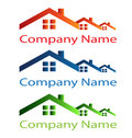 House Roof Logo Royalty Free Stock Photography - 26986577