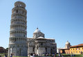 Tourists Near Leaning Tower In Pisa, Italy Royalty Free Stock Photography - 26998127